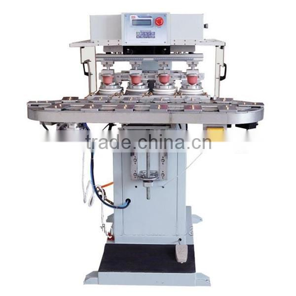 HK manual 4 color super primex pad printing machine