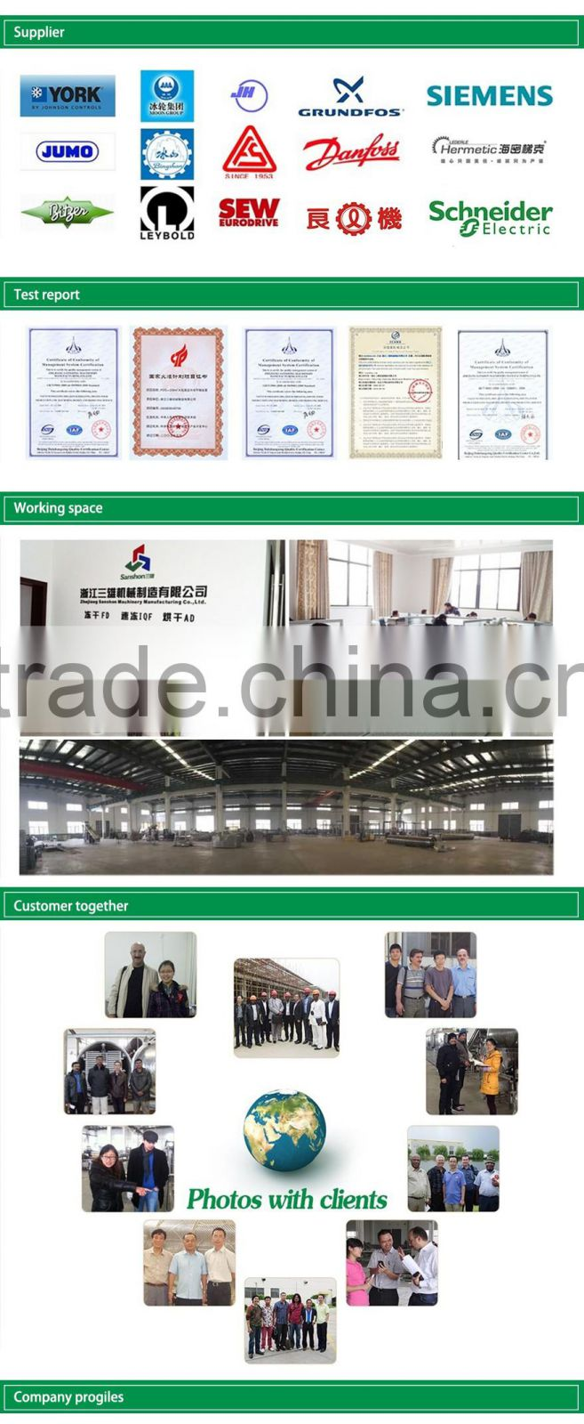 China Frozen Vegetable Production Line,Green Peas Quick Freezing Processing Equipment