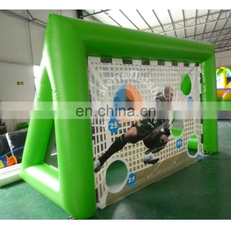 High qualiry inflatable sport games wholesale price inflatable football gate for adult