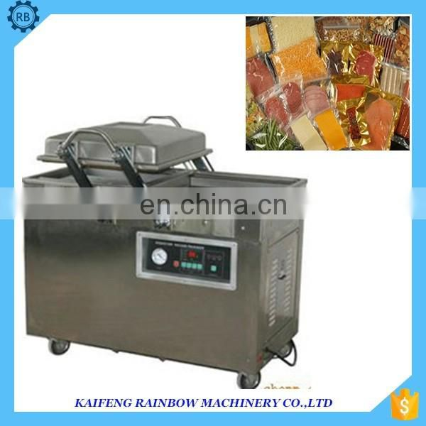 Industrial high speed vacuum sealing machine vacuum sea food salted meat sealing machine