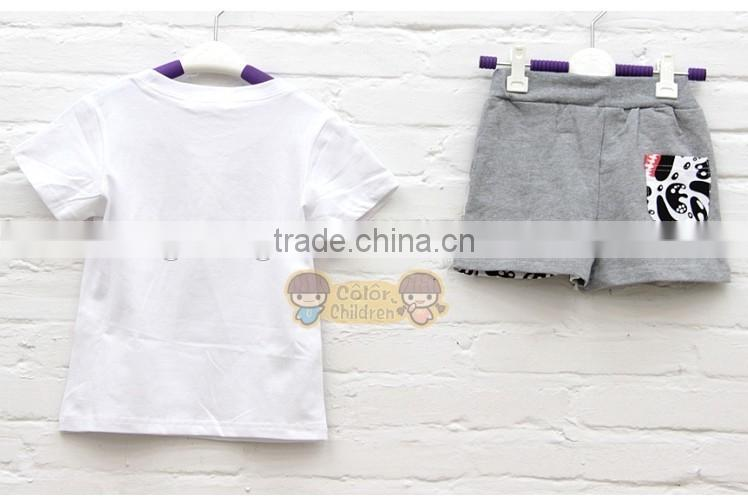summer New Family Set Mother and daughter clothes Kids Baby Milo Sports T shirt +Pants Girls Boys sets