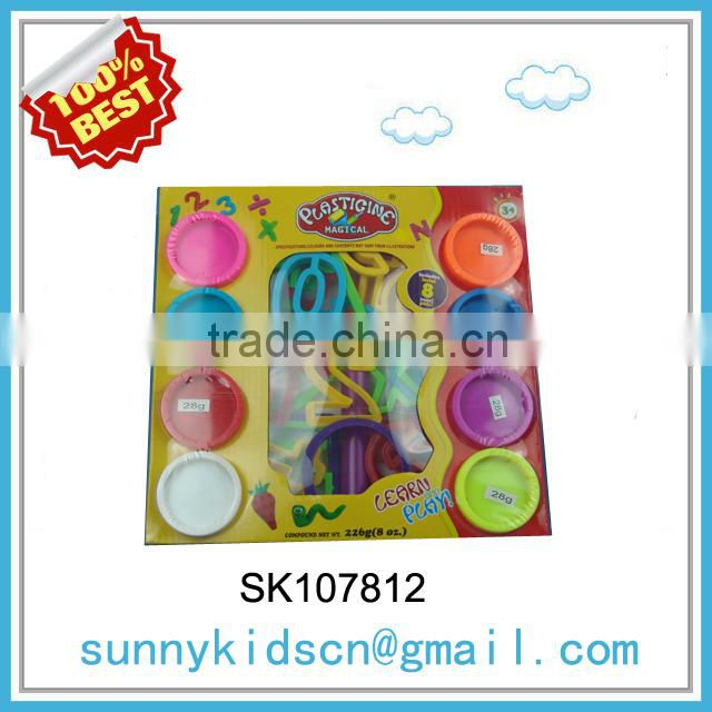 Wholesale kids color play dough set color clay with high quality