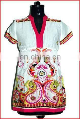 Latest Designs Cotton Blouse 2017