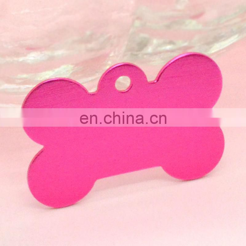 Fashion anodized aluminum blank dog tags wholesale