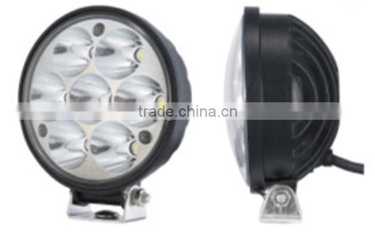 21W 4 inch auto lighting led for truck trailer ATV off road,stainless sealed beam headlight