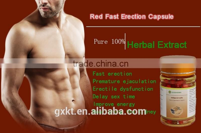 Herbal extract male health strong capsule cures erectile ...