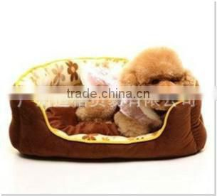 manufacturer wholesale new soft brown dog bed designs/pet beds for cats/luxury pet sofa bed