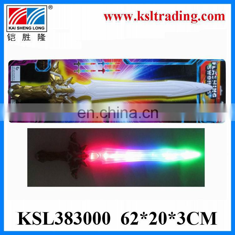 Eco-Friendly plastic toy sound and light laser sword toy