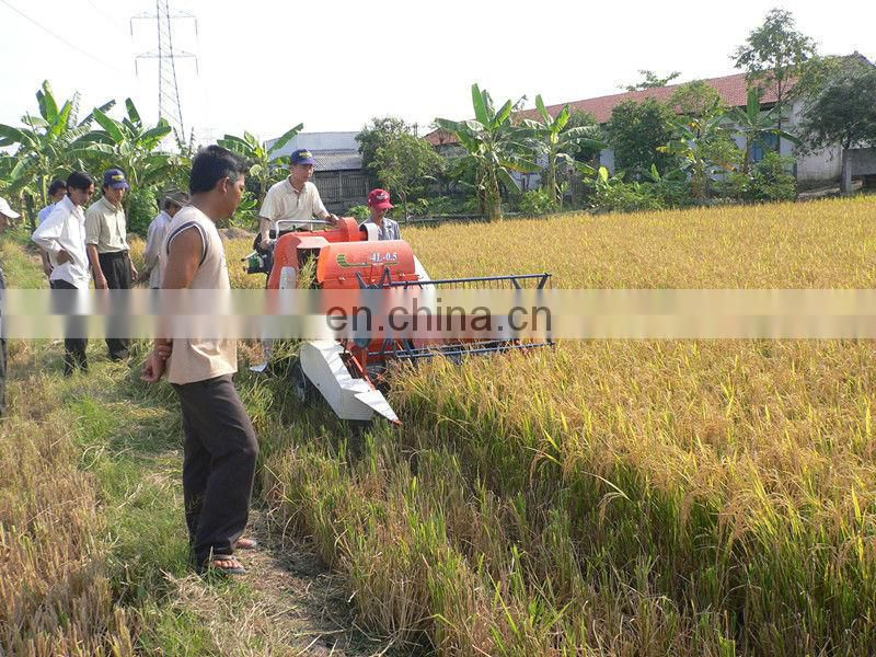 rice reaper paddy harvester wheat harvesting implement