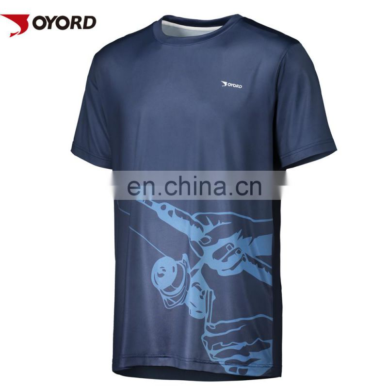 Man breathable long sleeve UV protection fishing shirt
