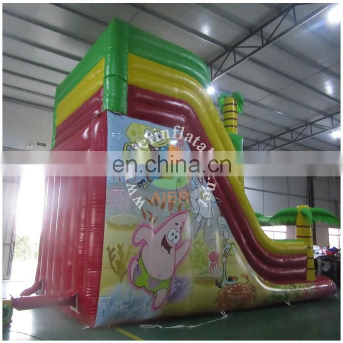 CE certification bob inflatable super slide