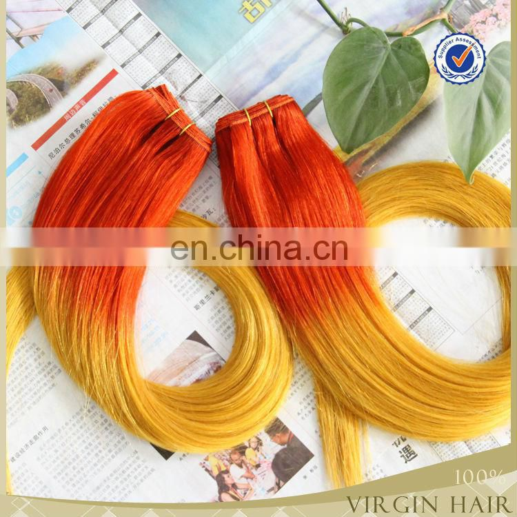 High quality ali express cheap brazilian human hair ombre blonde hair weave