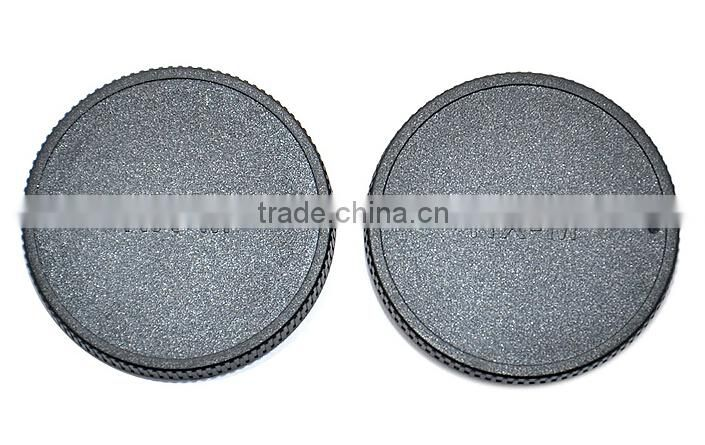 Rear Lens Cap For Camera JJC L-R17 Front Lens Cap For Samsung NX-m Mount Lens/Camera