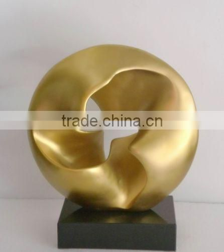 Hand Casting Decoration Stainless Steel Art Sculpture