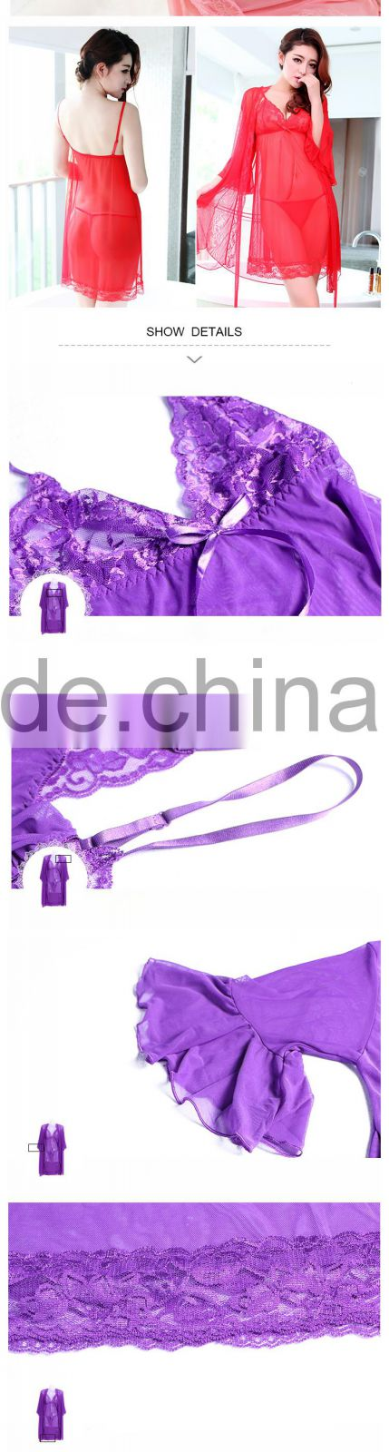 HSZ-3002 Sexy hot fashion show lingerie&good quality teddy lingerie sexy hot fashion show babydoll lingerie