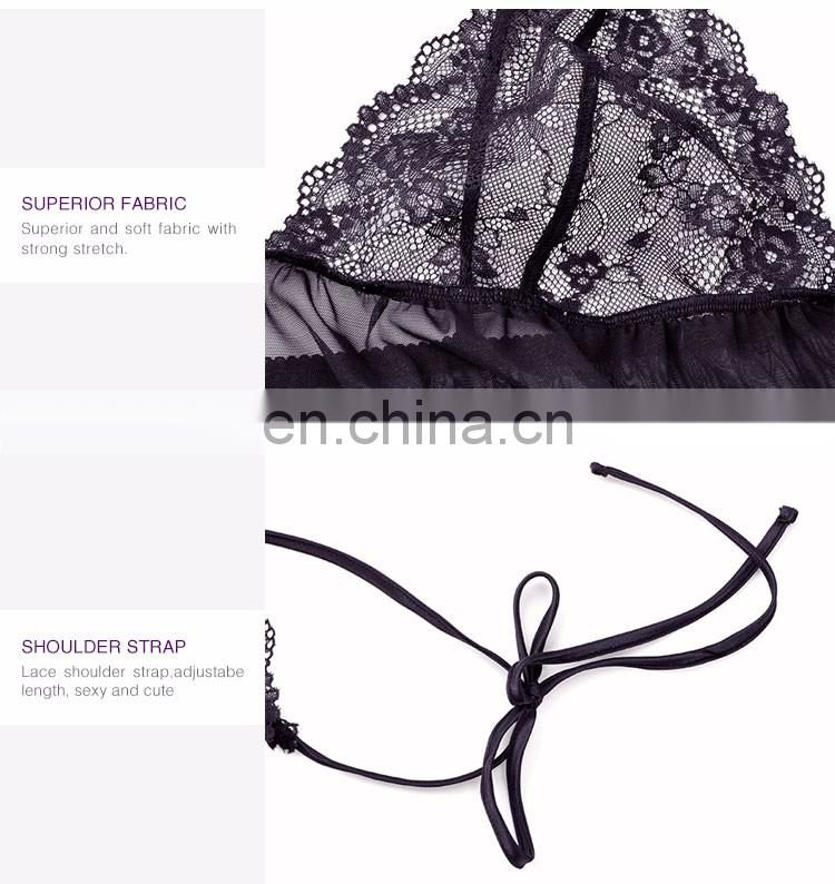 The Latest Women'S Sleepwear Wholesale Hot Sexy Lace Lingerie