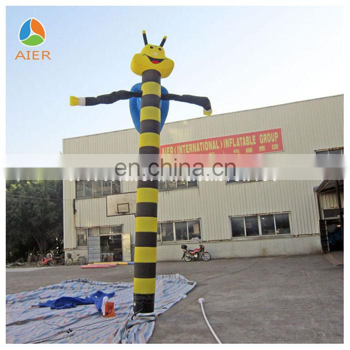Cutely Bee inflatable air dancer,inflatable sky dancer for hot sale