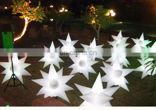 nightclub decoration inflatable star on ground