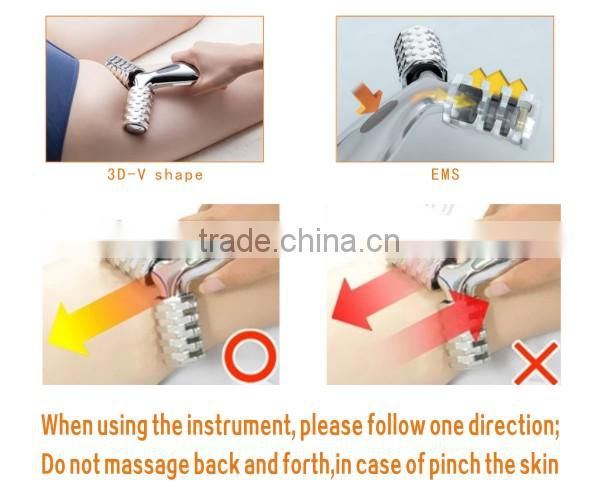 2014 Best Anti Wrinkle Device Home Use Face Lifting Portable Crazy Fit Massager