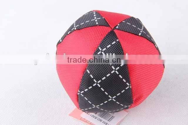 Oxford pet toy round ball with sound hot sale dog toy