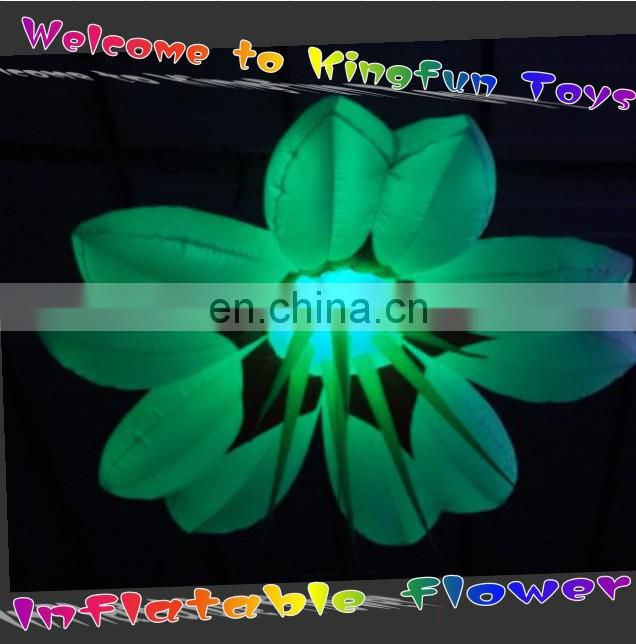 2014 wedding/stage/show/party/event/club inflatable LED flower