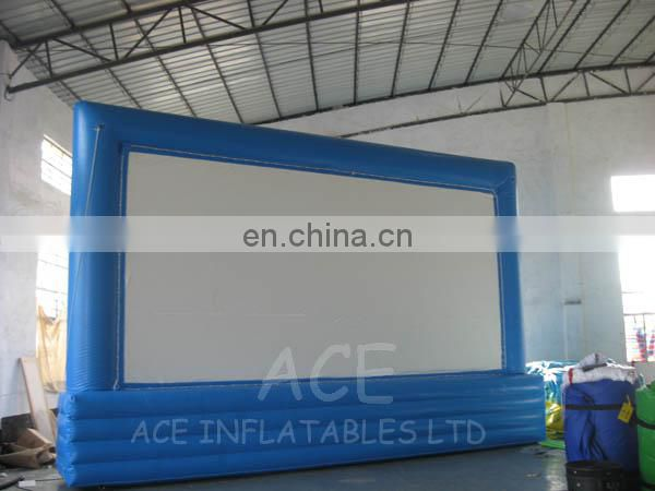 Inflatable movie screen with customized size for sale