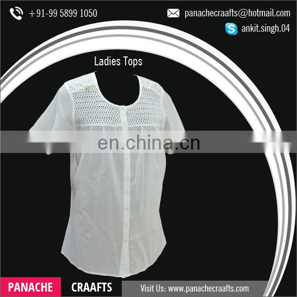Wholesale Bulk Latest Fancy Tops for Women