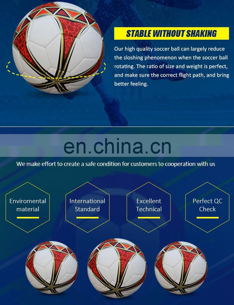 Size 5/ 4/ 3/ 2/ 1 PU, PVC, Real Leather Soccer Balls in Bulk