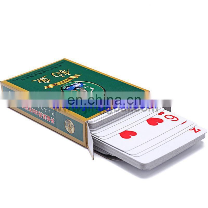 advertising play cards