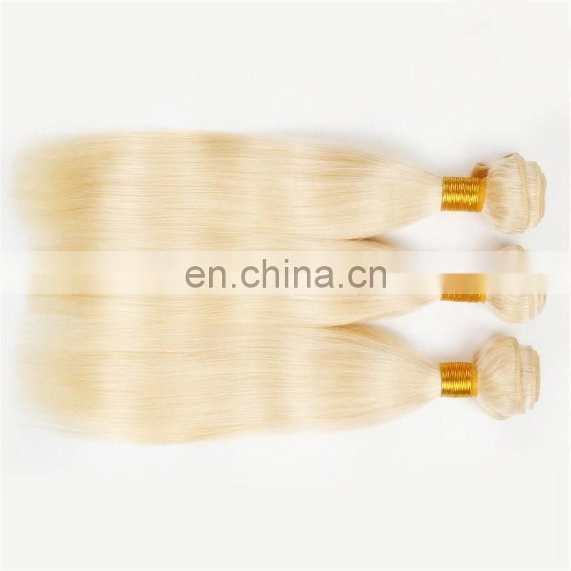 Alibaba golden supplier supply top quality human hair color 613# hair extensions cheap price blonde human hair for white woman