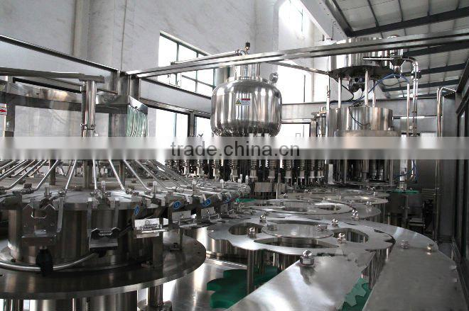 Good quality plastic bottling filling machine and production line for jucie and tea from 1000bph to25000bph