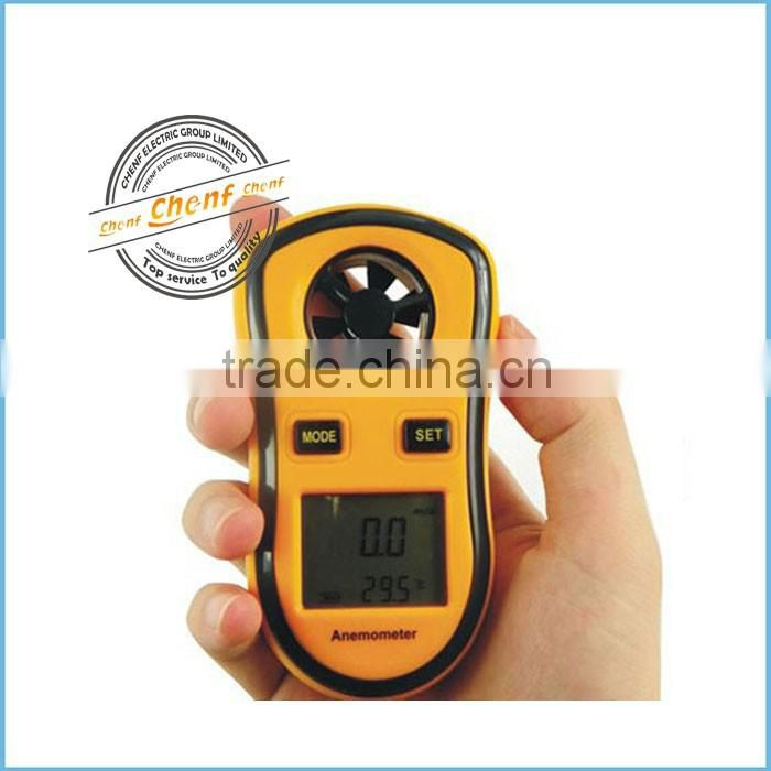 2014 Newest Digital High Precision Anemometer with LCD Backlight