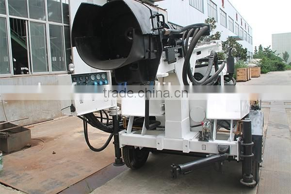 high efficiency, HF410T water well drilling rig for sale in japan