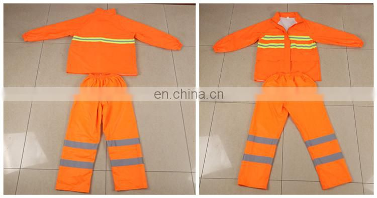 Wholesale Hi Vis Waterproof Rain Jacket