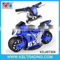 Hot sale 4D 1:8 scale rc motorcycle toy car for children