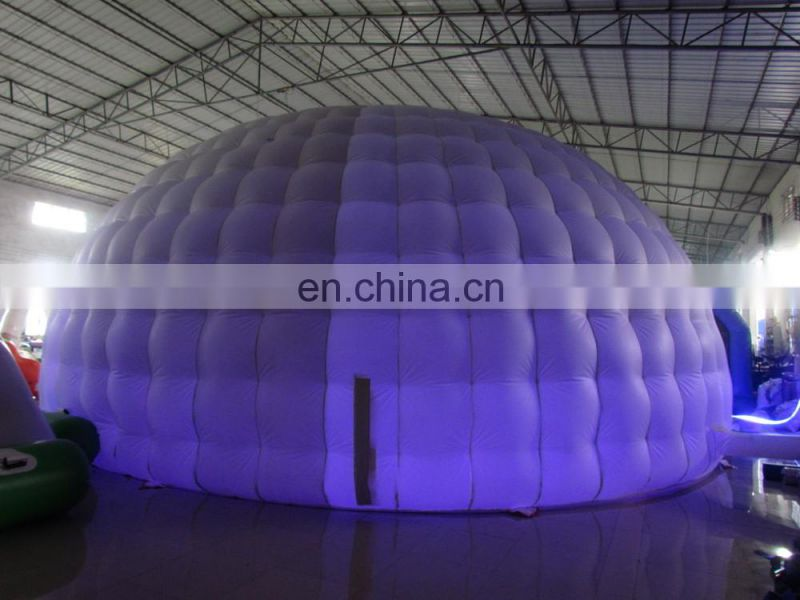 Inflatable mosque dome tent,Inflatable LED tent for advertising