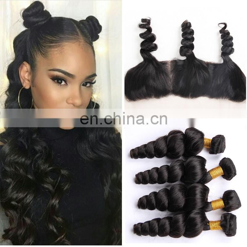 burmese hair kinky curly weave lace frontal with bundles free sample hair bundles