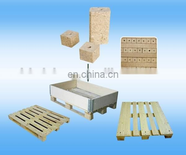 Big Discount High Efficiency wood feet block hot press machine to make wooden pallet