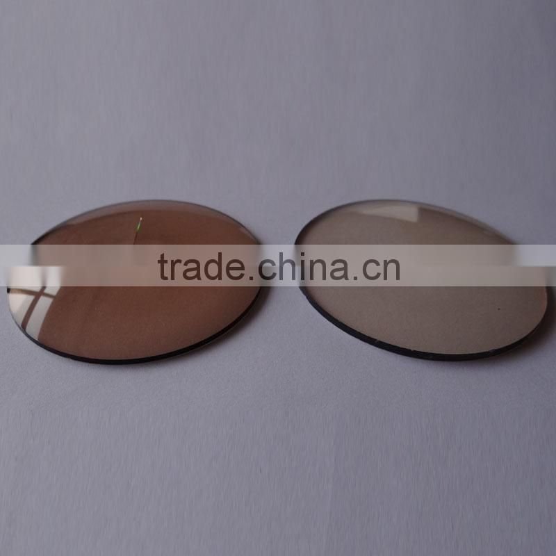 1.523 1.56 photo brown lens(CE, FDA, Factory)