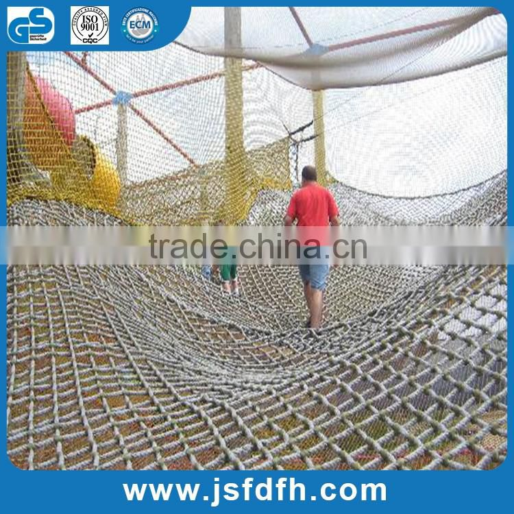 """Foot Price Please READ 1//2/"""" Playground Climbing CARGO NET Rope MADE TO ORDER SQ"""