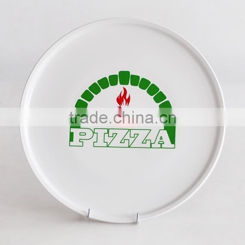 12inch Porcelain Pizza Plate with Decal