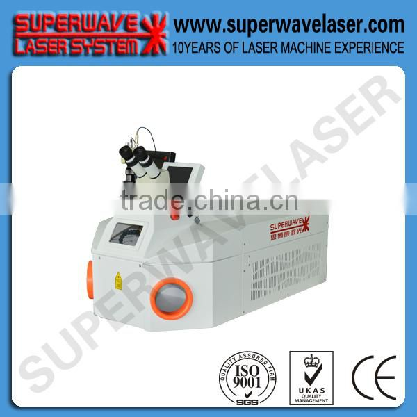 Mini 100w laser welding machine for Dental industry with internal water cooling system welding machine for metal