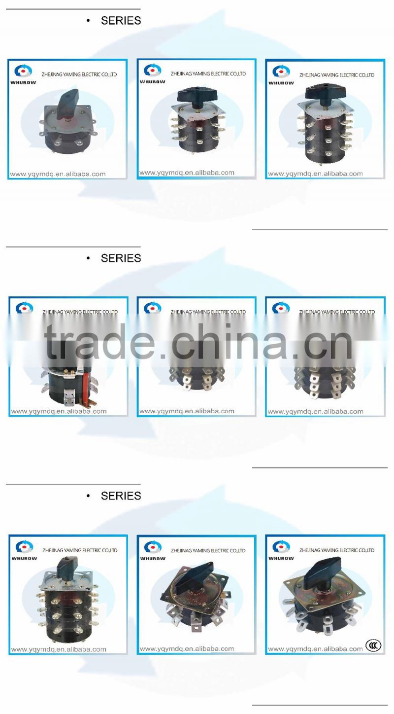 Kdhc Series 25a32a40a63a 1 9 Poles Electric Changeover Cam Rotary Gas Welding Diagram Transfer Co2 Machine