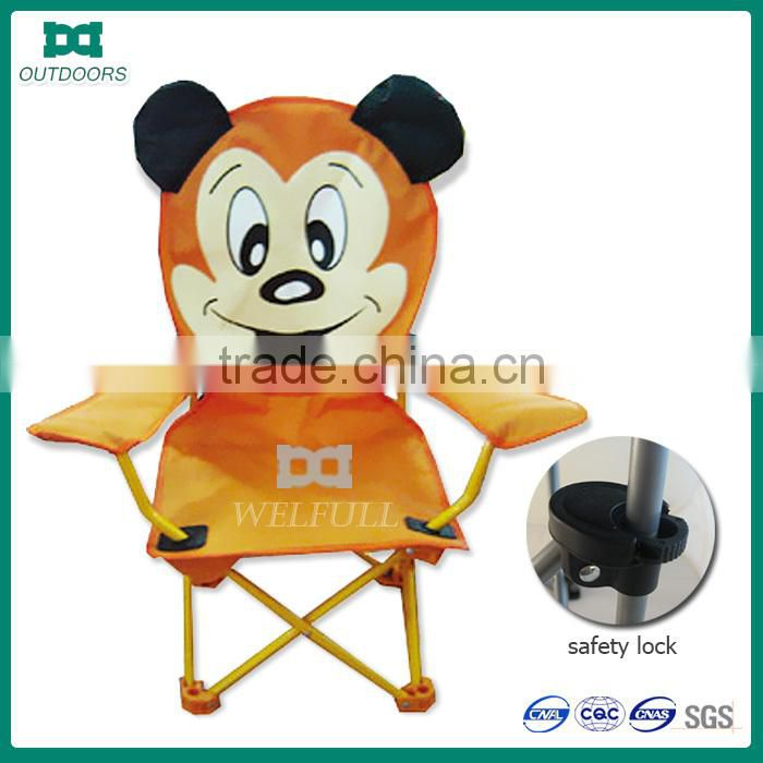 Cartoon picture personalized animal print camping chair