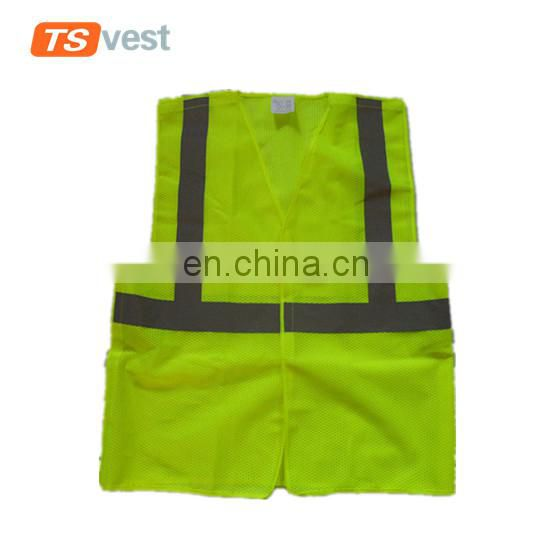 Simple style promotional cheap safety vest
