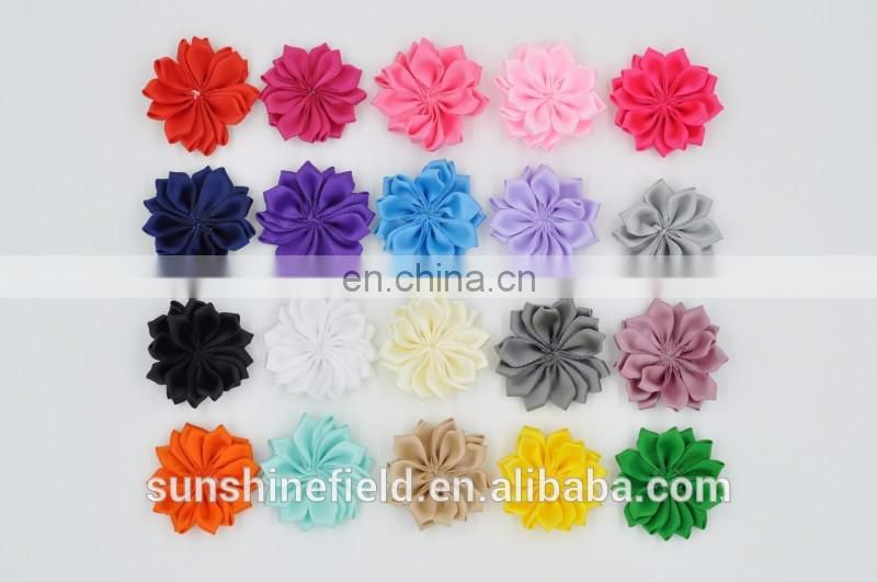 2Inch Chiffon Petal Flowers Baby Headbands flower For Infant Headbands Accessories/DIY Craft