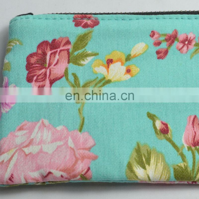 100% Cotton 12oz Canvas Zipper Cosmetic Makeup Jewlery Pouch ,Canvas Pen Pencil Case Stationery Pouch Bag Case Cosmetic Bags