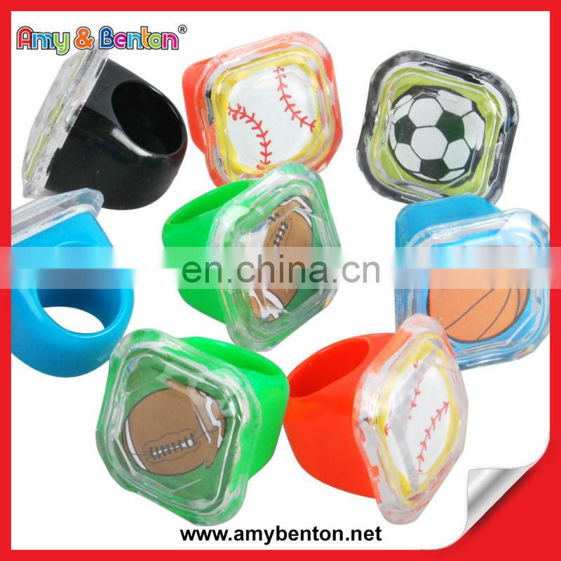 Promotional Small Cheap Plastic Ring Toys Premium Gifts for Kids