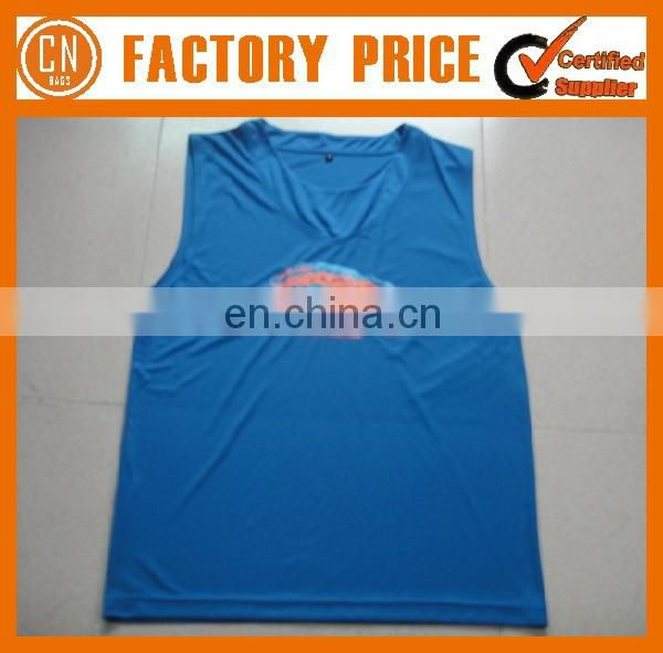 Customized Logo OEM Designed 100% Cotton Man's Singlet