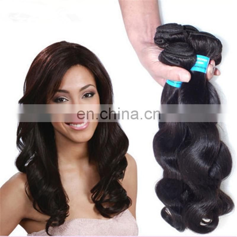 Cheap virgin brazilian hair extensions top quality remy raw 100% human hair body wave fast delivery